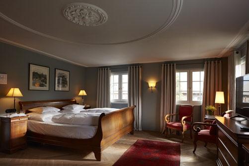 Beispielhaftes Hotelzimmer