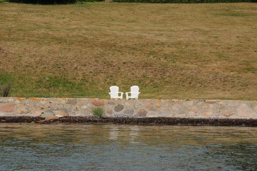 Das dazugehörige Anwesen am Svendborgsund passte nicht aufs Bild ;-)