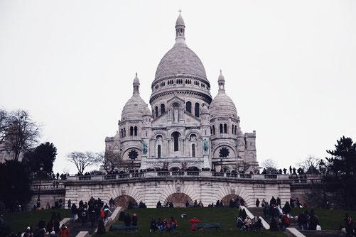 Basilika Sacré-Coeur, Kathedrale Paris, Monmartre