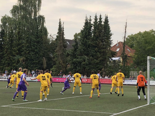 Osnbrück gewinnt, VfL wenig Chancen