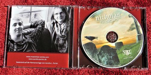 Soundtrack zur Nicolae-Saga, komponiert von Maximilian J. Zemke