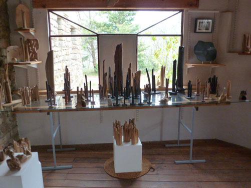 Vases grès de toutes dimensions cuisson four à bois - Noborigama -     Sylvie Ruiz Foucher