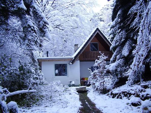 Das Osho Mani im Winter