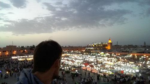 place Jemaâ El-Fna