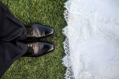 Brautpaar Schuhe - Freier Redner