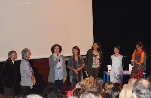 Film sensible, suivi d'échanges touchants avec la réalisatrice Anne Barth