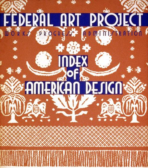 連邦美術計画『アメリカのデザインの総目次』
