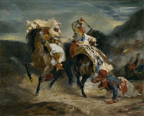 《異端者とハッサンの戦い》1826年