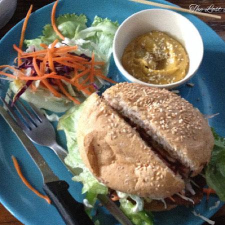 vegan burger the lost lemurian