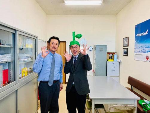 大分で航空宇宙学が学べる学校、日本文理大学の山岸教授に会いました
