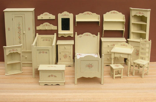 """Country Cream "" Furniture"