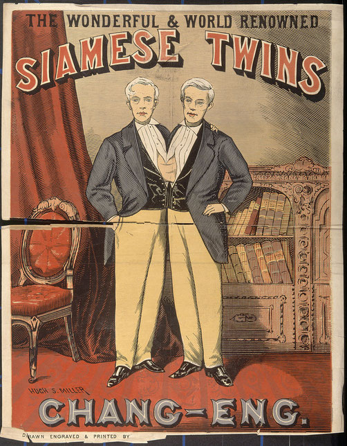 南北戦争後の公演チラシ。北部では以前のような人気はすでになくなっていたという。