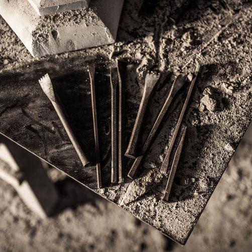 Steinmetz Werkzeug für die handwerkliche Steinbearbeitung