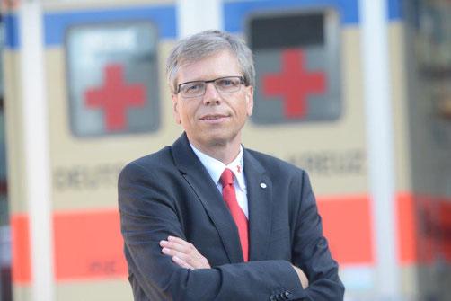 Vorstandssprecher Marc Dietrich vom DRK Kreisverband Neuss e.V.
