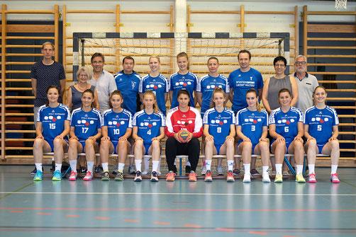 Damenteam 1, Handballclub Malters mit dem neuen Trainer Martin Gerber