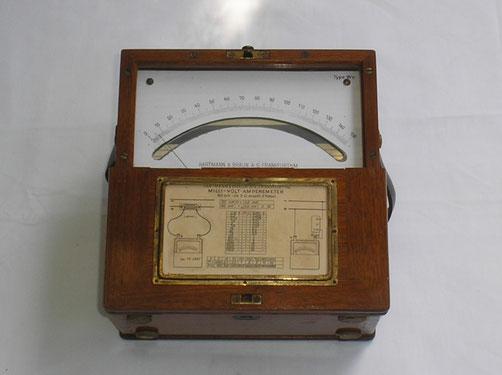 Hartmann & Braun  Millivolt / Ampere Meter Typ. Wn  über Nebenwiderstände