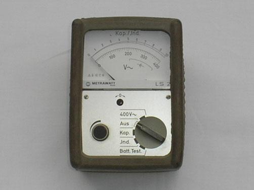 Metrawatt  Leitungssucher Typ. Ls 2 mit Spannungsmessbereich bis 400 Wechselspannung