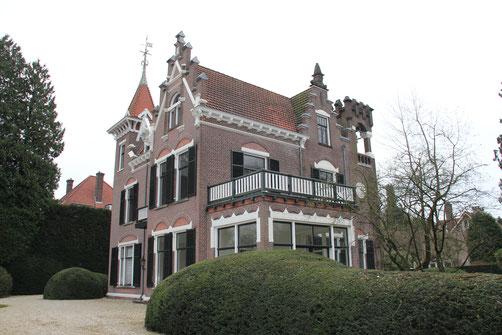 Huize Welgelegen, Emmalaan 7 Baarn rijksmonument architect Ferdinand de Boois