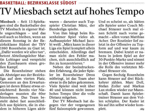 Artikel im Miesbacher Merkur am 11.2.2017 - Zum Vergrößern klicken