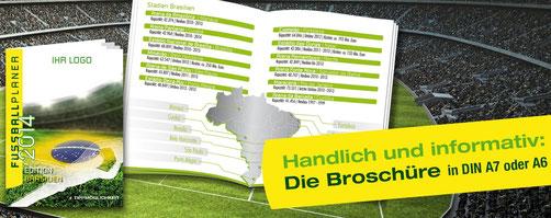 Fußball Fanartikel 2014 | WM Broschüre | 20 Seiten