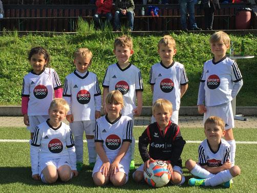 Unsere Jüngsten beim Turnier in Bauerbach am 16. September 2017