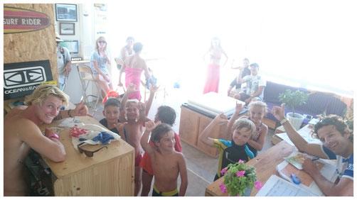 Soulac surf school, plage des naïades de soulac sur mer l'école de surf pour tous