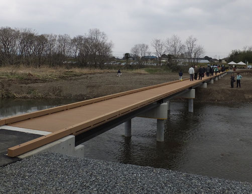 架替後の橋②