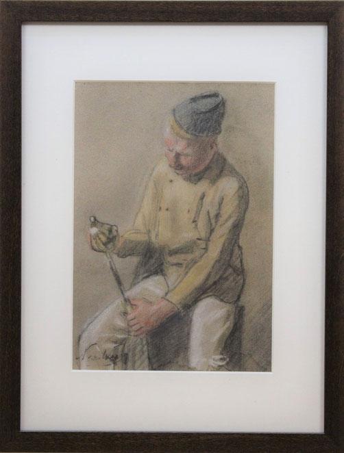 te_koop_aangeboden_een_militair_kunstwerk_van_de_nederlandse_kunstenaar_nicolaas_van_der_waay_1855-1936_haagse_school
