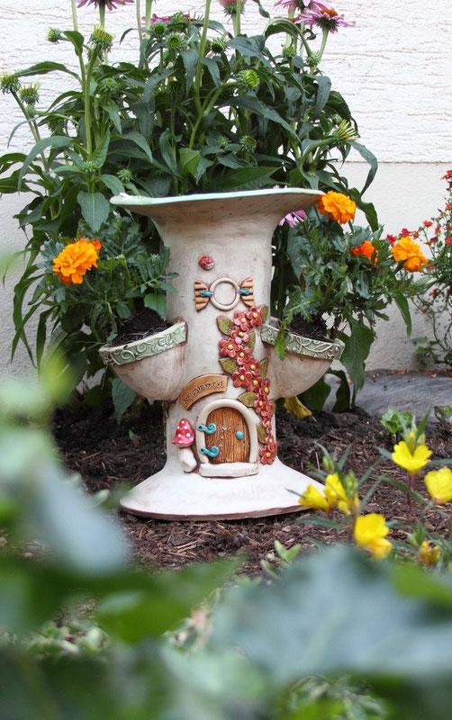 Geliebte Vogelbad - Keramik-Fleury - Keramik für Haus und Garten @TY_65