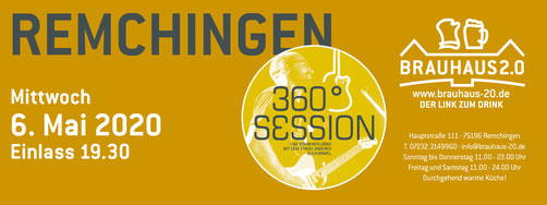 Musiker Markus Loris Patrick Lemm Tim Eden 360 Grad Session