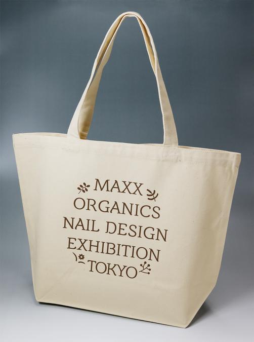 安い、短期のネイルスクール マックスオーガニックネイルスクール ネイルデザイン展 東京 トートバッグ
