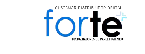 DISTRIBUIDOR FORTE DEL DESPACHADOR DE PAPEL HIGIÉNICO INSTITUCIONAL FORTE GUSTAMAR F2426BB