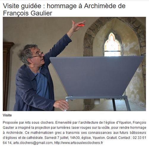 Infolocale - François Gaulier - 4 juillet 2018