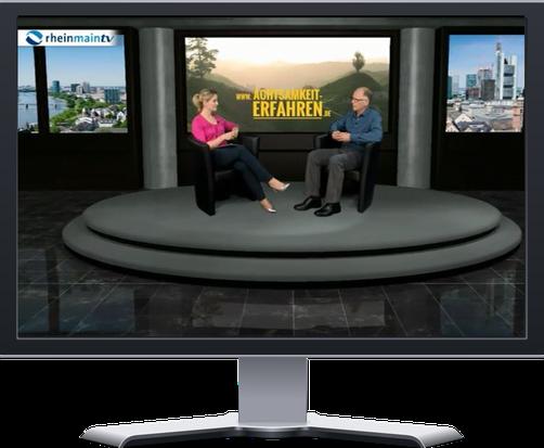 TV Interview: Simone Cortellaro und Frank Hofmann