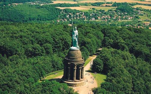 Hermannsdenkmal © Stadt Höxter
