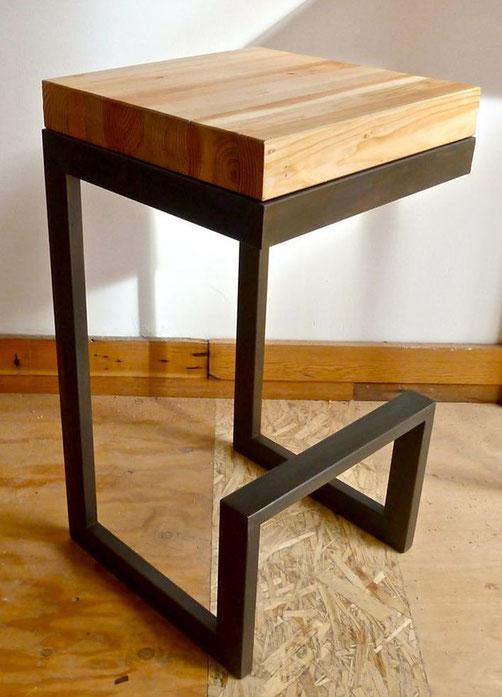 стул стиль лофт,стул деревянный,стул металлический