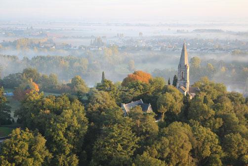 Die Ferienhäuser des Domaine de Joreau liegen in Gennes Val de Loire