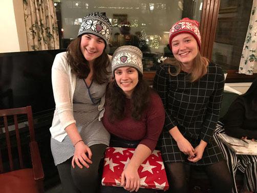 Weihnachtsfeier mit den Bewohnern des Katharinahjemmet (Foto: Lenja Bockermann)