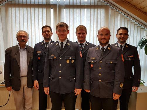 Feuerwehr Oberwildenau - Führungstrio