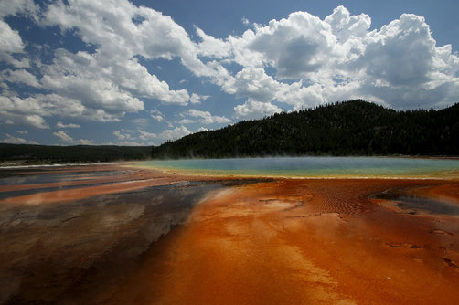 Grand Prismatic im Yellowstone National Park