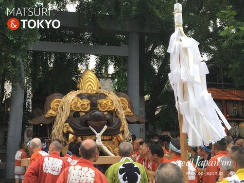 波除神社 つきじ獅子祭 @2017.6.11