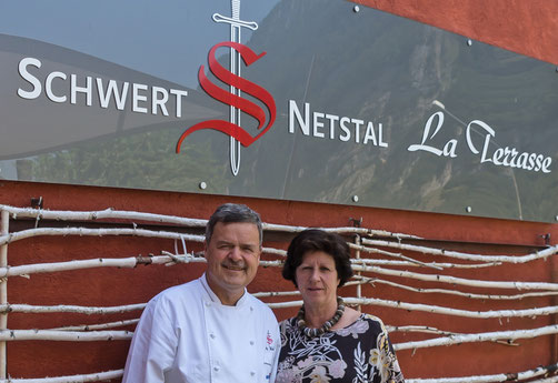 Jürg und Marlène Weber, Pächter seit Februar 1987