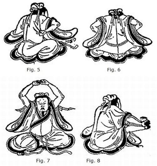 Gym, 5 à 8. Henri Maspero (1883-1945) : Les procédés de « nourrir le principe vital » dans la religion taoïste ancienne. — Journal Asiatique, Paris, 1937: avril-juin, pages 177-252, et juillet-septembre, pages 353-430.