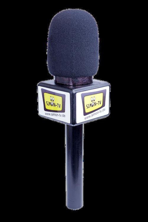 Das selbstgebaute SIMON-TV Mikrofon