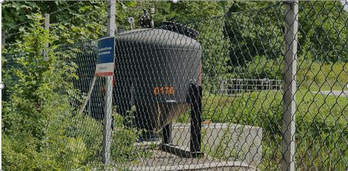 mobile Abwasserbehandlungsanlage