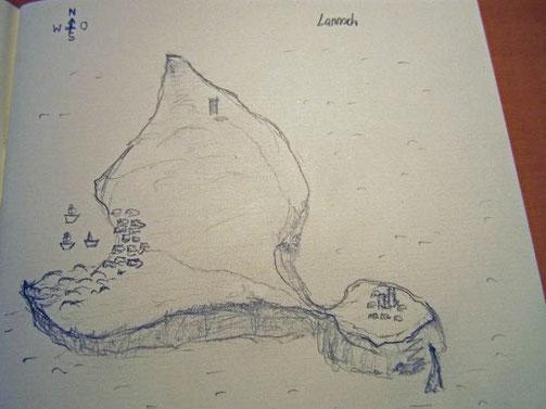 Lannoch, Skizze von 2007