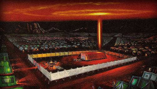 Lev_8:10  Então Moisés, tomando o óleo da unção, ungiu o tabernáculo e tudo o que nele havia, e os santificou;