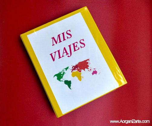Prepara una carpeta con la documentación para tu viaje - www.AorganiZarte.com