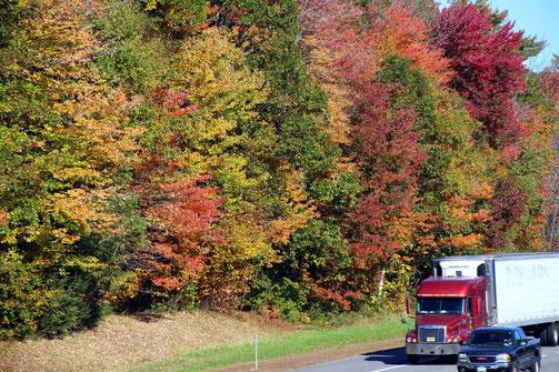 York, ME, Mountain Rd. Brücke über I-95