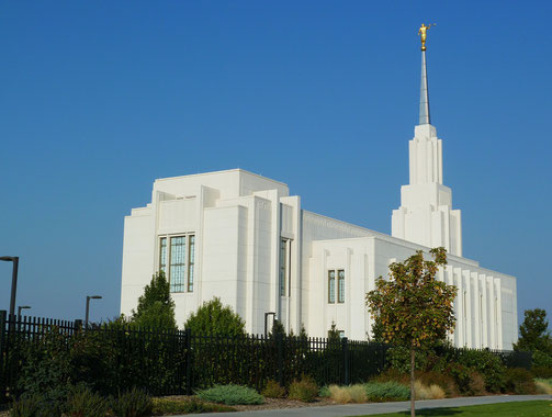 Mormonentempel in Twin Falls, ID